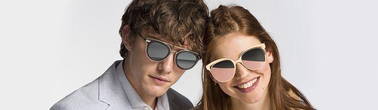 Gafas de sol El Corte Inglés, colección hombre y mujer tendencias 2017