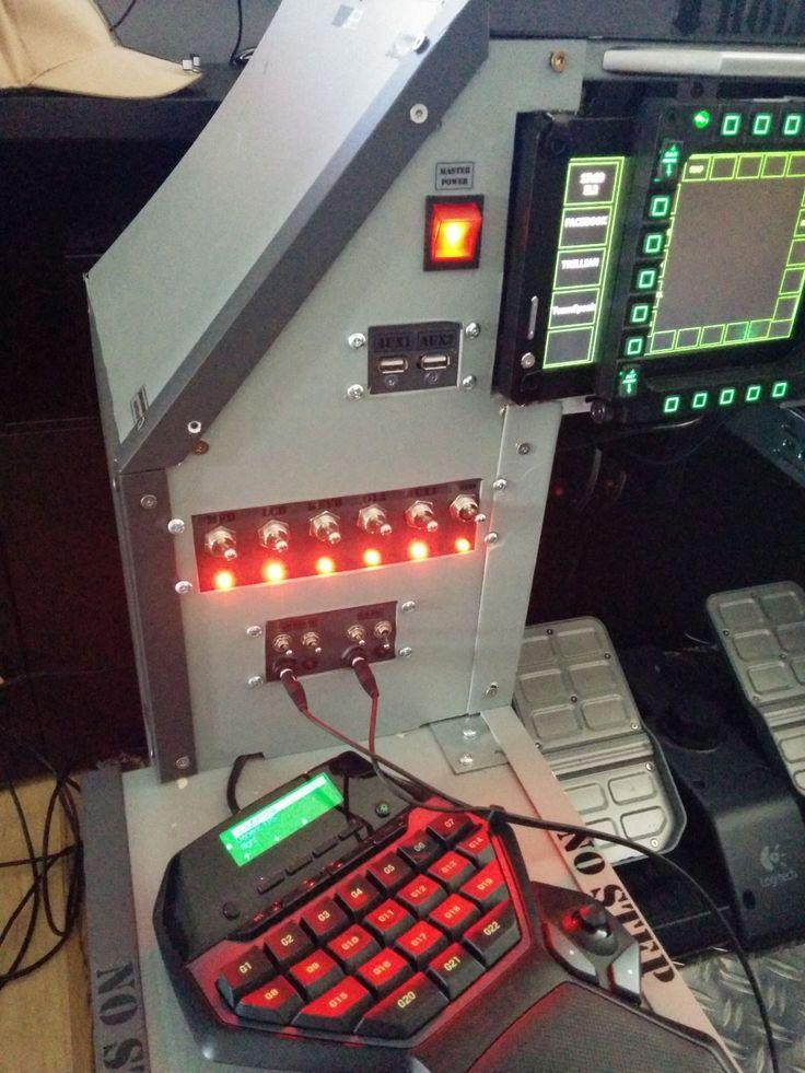 Diy Cockpit Elite Flight Simulator Cockpit Flying