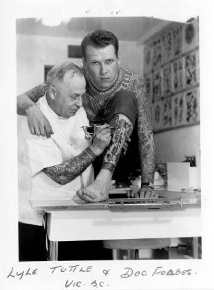 doc forbes lyle tuttle walking art pinterest tattoo body art and tattoo vintage. Black Bedroom Furniture Sets. Home Design Ideas