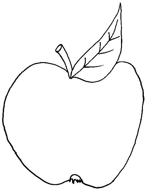 Apfel Vorlage