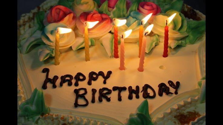 Happy Birthday Song with Cake & Candles | HappyBirthdayTV
