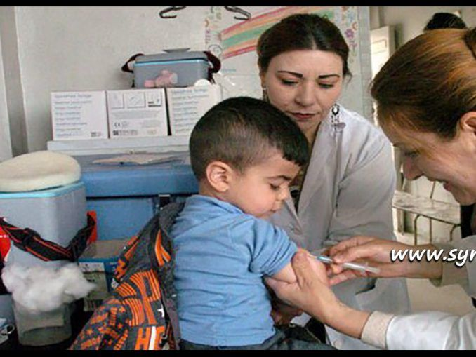 #Syria Launches #Vaccination Campaign Against #Measles:  http://www.syrianews.cc/syria-launches-vaccination-campaign-measles/ #Healthcare #UNICEF #Children