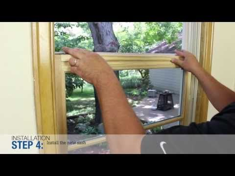 Windsor Windows Win-Pac Replacement Kit - YouTube
