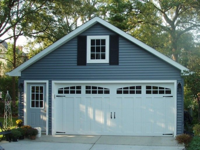 My future garage doors will look like this love the for Gable garage