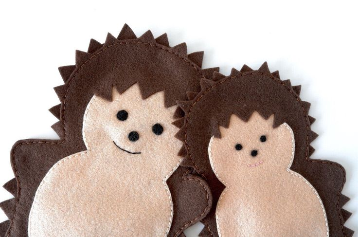 A personal favourite from my Etsy shop https://www.etsy.com/listing/232471735/hedgehog-puppets-the-puppet-puppets-for