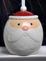 Cookie Jar: Cookie Jars Ummmm, Cookie Biscuit Jars, Cookiejars, Santas, Cookies Jars