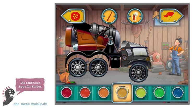 Auto-Spiele App für Kinder 🚗 Mulle Mecks Autos 🚗 App-Vorschau & Gameplay