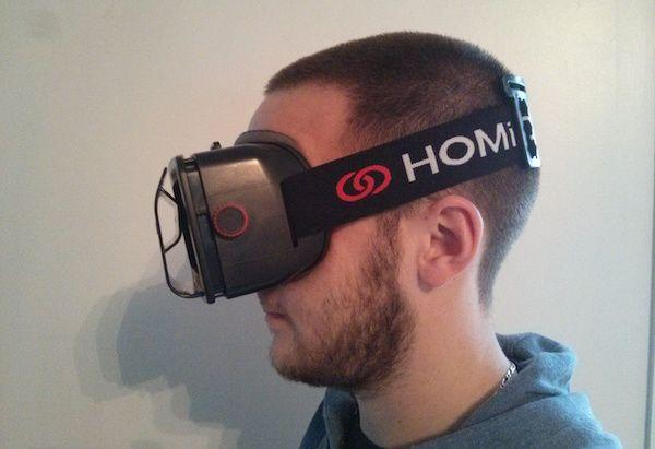 test casque Homido realite augmentee