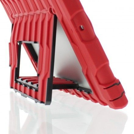 Drop it, bounce it, kick it around. You'll be safe with this HardCandy. EreadersRus - Shockdrop Poptop Rugged Case for iPad air with screen protector and stand, Red , AUD79.95 (http://www.ereadersrus.com.au/shockdrop-poptop-rugged-case-for-ipad-air-with-screen-protector-and-stand-red/)