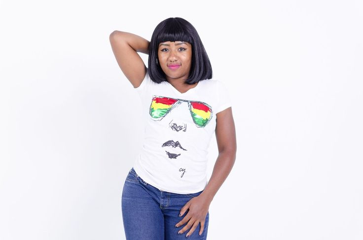 I see you Rasta Glasses t-shirt by Cooyah Clothing available worldwide at cooyah.com Model: lady lama from the Spread Love Gang  #rasta #apparel