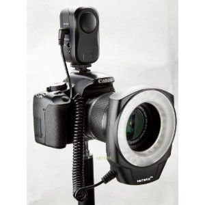 NEEWER� Macro Ring LED Light - Works with Canon/Sony/Nikon/Sigma lenses