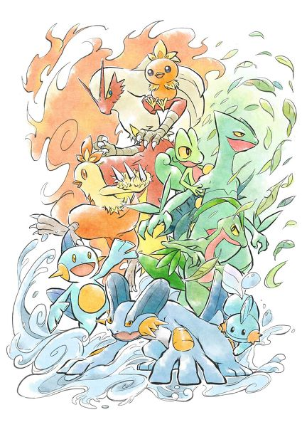 pokemon ruby and sapphire starters