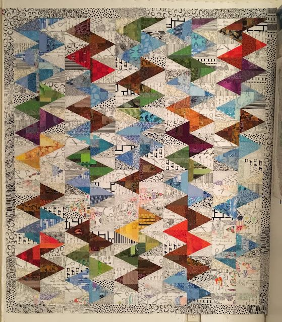 Scrap Slab Triangle Quilts