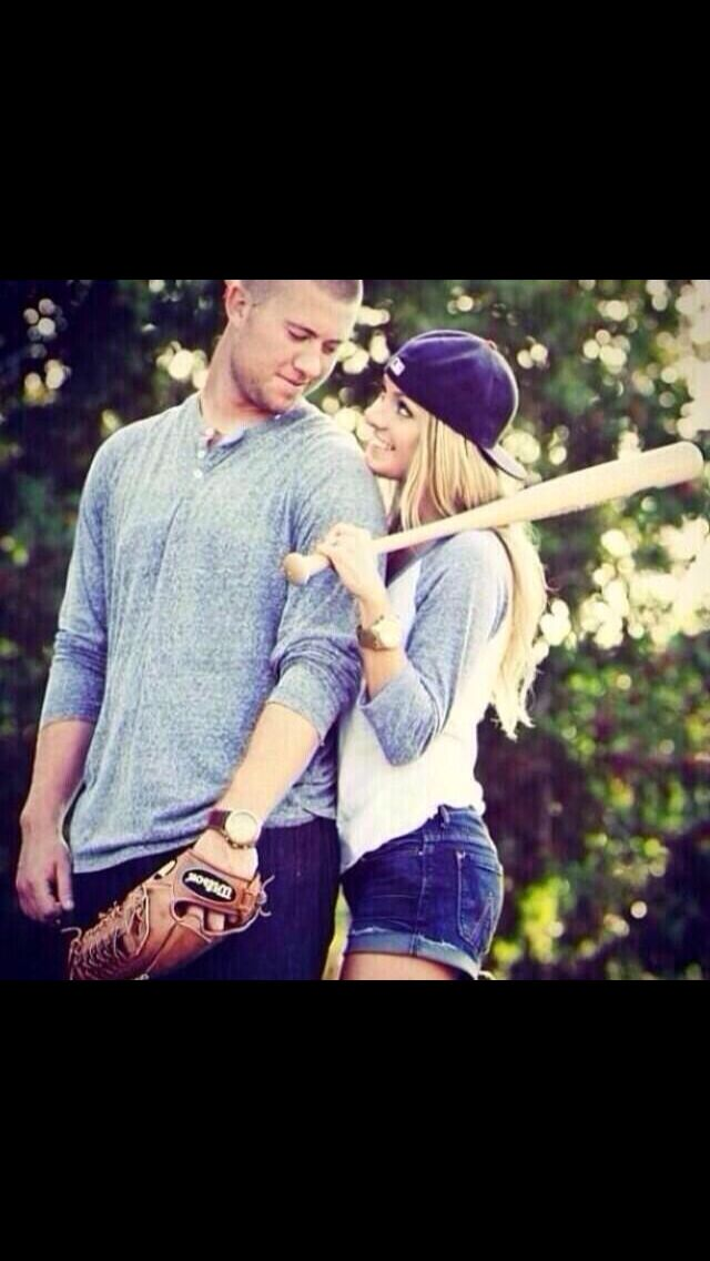 I hopey boyfriend is a baseball player so we can do this