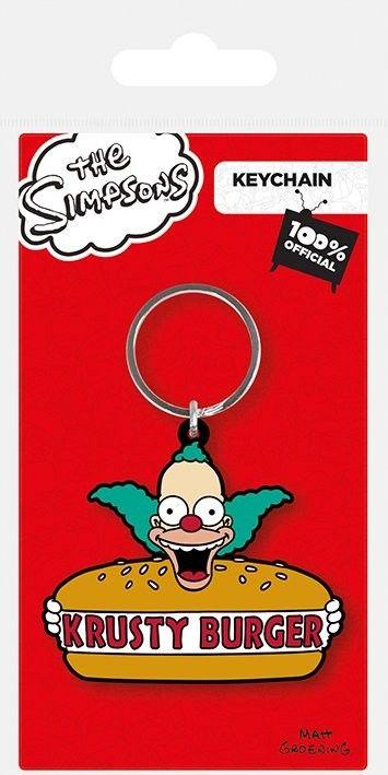 Simpsonovci - Krusty Burger Kľúčenky, prívesky   Prodej na Posters.sk
