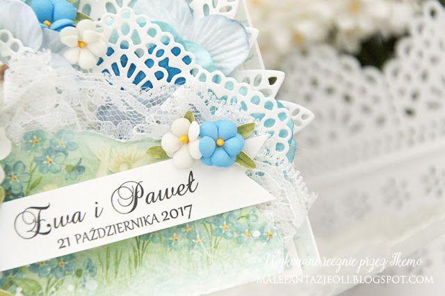 Blog Craft Passion: Niezapominajki / Forget me not flowers KURS / TUTORIAL