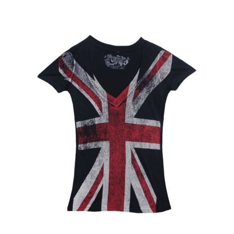 Shop for Womens Union Jack Tee in Navy at Journeys Shoes. Shop today for the hottest brands in mens shoes and womens shoes at Journeys.com.Cotton blend tee featuring Union Jack print.