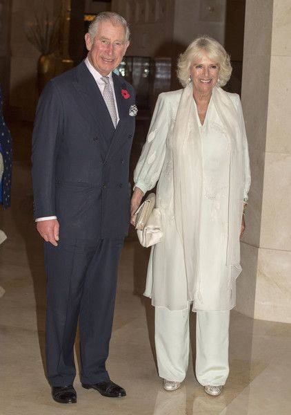 Prince Charles Photos Photos - Prince Charles, Prince of Wales and Camilla, Duchess of Cornwall leave the Al Bustan Palace Hotel to attend an official dinner on November 5, 2016 in Muscat, Oman. Prince Charles, Prince of Wales and Camilla, Duchess of Cornwall are on a Royal tour of the Middle East starting with Oman, then the UAE and finally Bahrain. - The Prince of Wales and The Duchess of Cornwall Tour Oman - Day 1