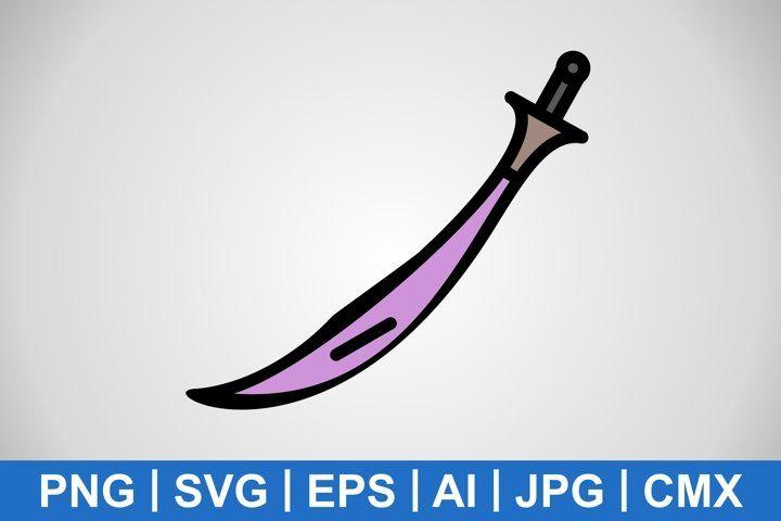 Vector Sword Icon 984626 Icons Design Bundles In 2021 Icon Icon Design Design Bundles
