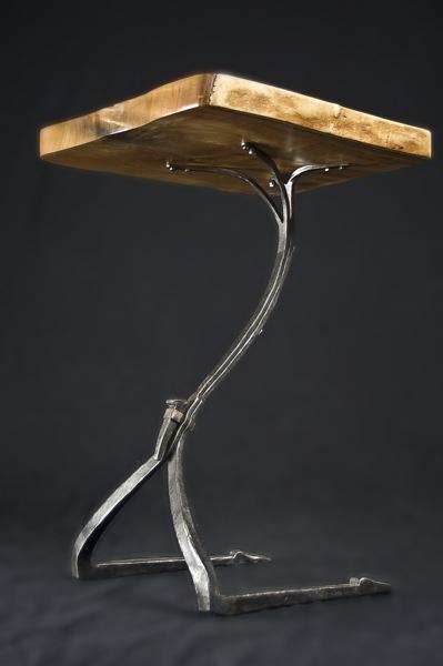 Side table - Monica Coyne Artist-Blacksmith