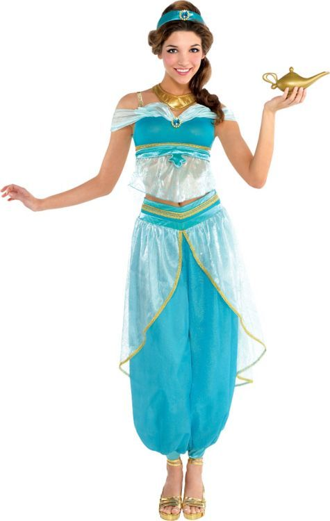 $90 but unavailable. Adult Jasmine Costume Couture - Party City