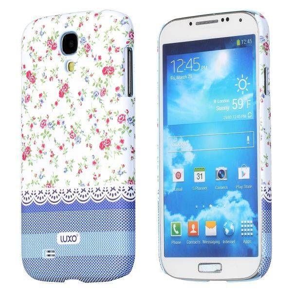 Elegant flowers hoesje Samsung Galaxy S4