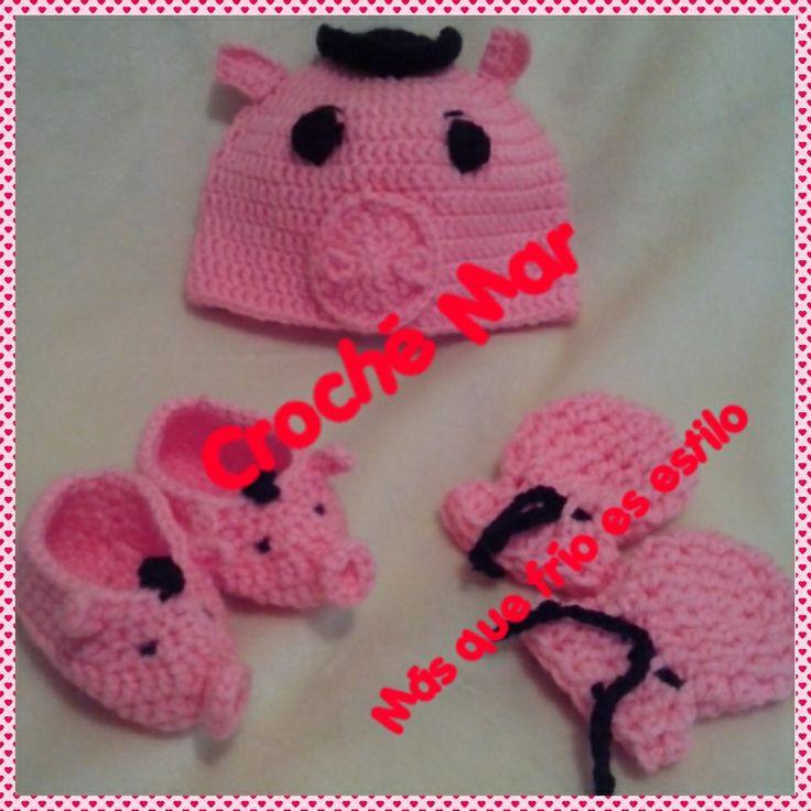 Conjunto tejido para bebe de Dr.tocino toy story por Croche Mar