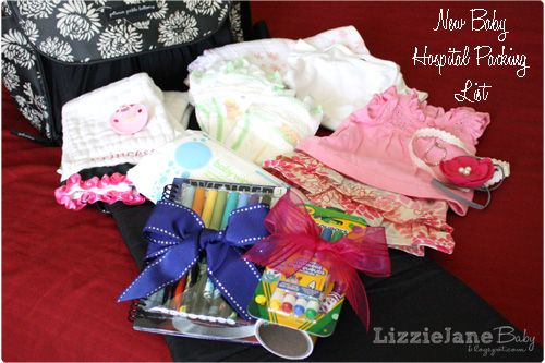 New Baby Hospital Packing List – what to bring, what the hospital will provide, …