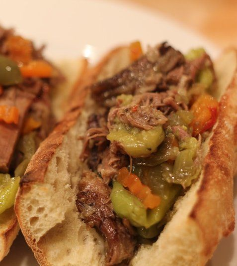 Chicago Italian Beef Print Total 05:20 Prep 00:20 Cook 05:00...