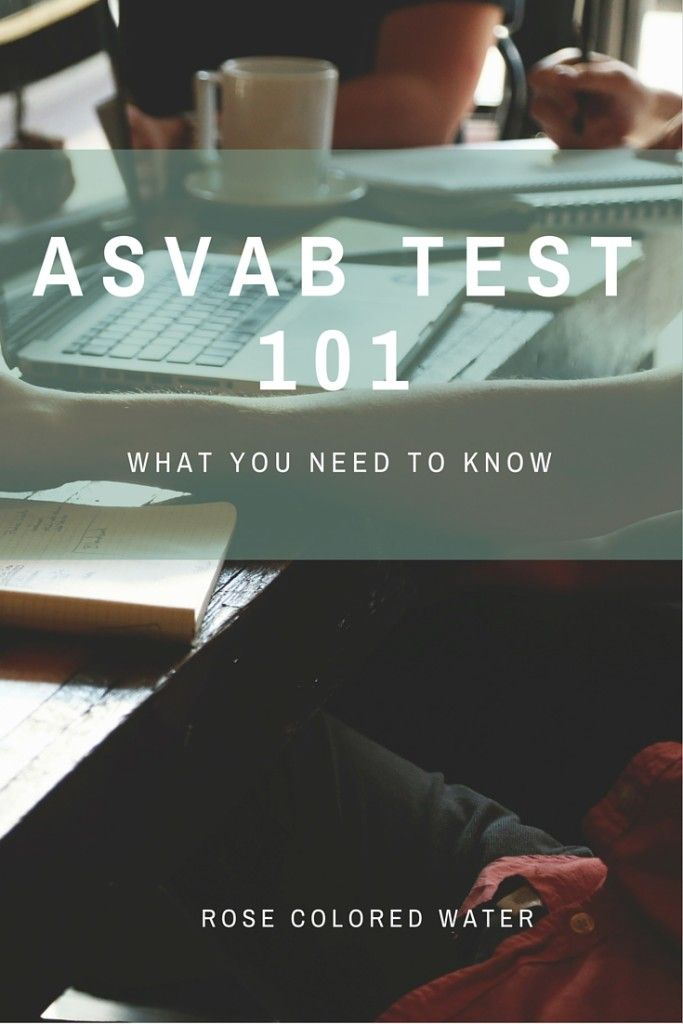 Taking the ASVAB? Here's some much needed advice! #airforce #military