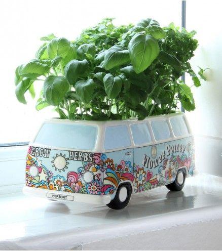 Achetez Bac à fleurs Herbert Camper Van WW sur lavantgardiste.com