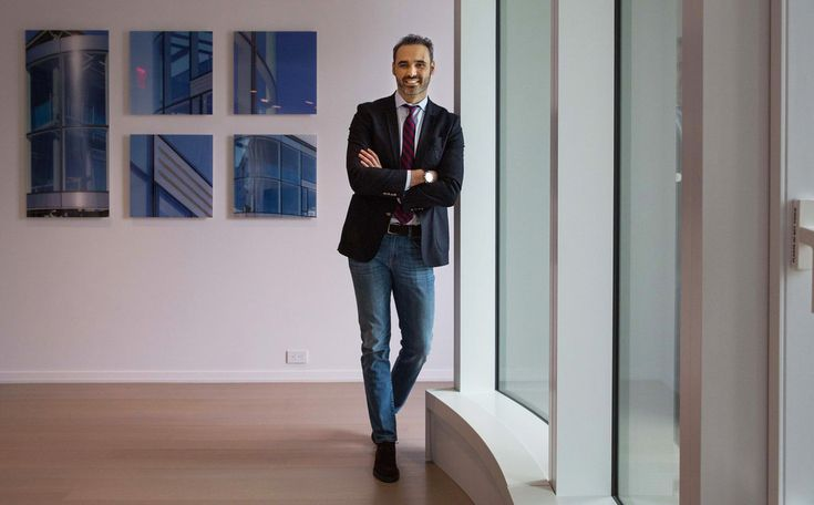 Daniele Petroni is a project manager with a specialty in the curtain walls used in many of New York's luxurious residences.