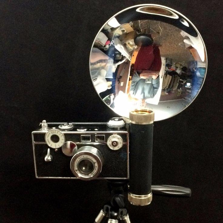 Vintage Argus Cintar Camera w/ original Flash INCLS undeveloped FILM in Camera! #Argus