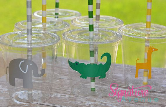 Safari PartyZoo Party Cups Kids Party CupsSet by SignatureAvenue, $20.40