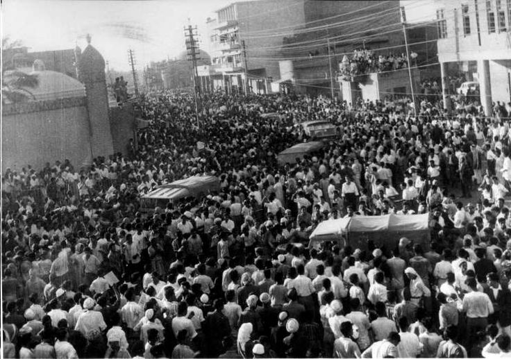 July 14,  1958: THE IRAQI MONARCHY IS OVERTHROWN  -   Iraqi Army Brigadier Abd al-Karim Qasim forms a military government and establishes the Republic of Iraq after overthrowing the Hashemite monarchy established in 1921.