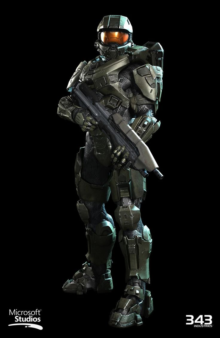 Halo 4 | Master Chief Renders
