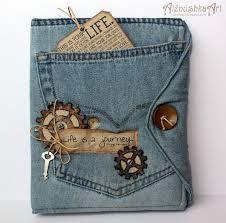 Risultati immagini per portafoglio jeans fai da te