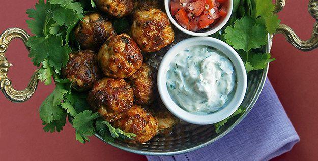 Polpette di pollo Masala - http://www.piccolericette.net/piccolericette/polpette-di-pollo-masala/