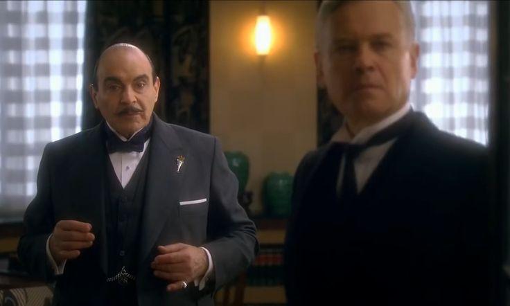 Agatha Christie, Poirot. Third girl. Poirot and George.