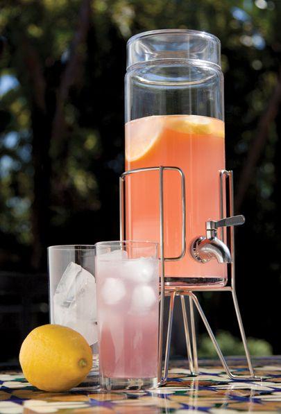 Pink Lemonade Beer Punch