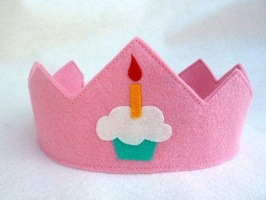 Felt Like Celebrating Birthday Crown ($15)