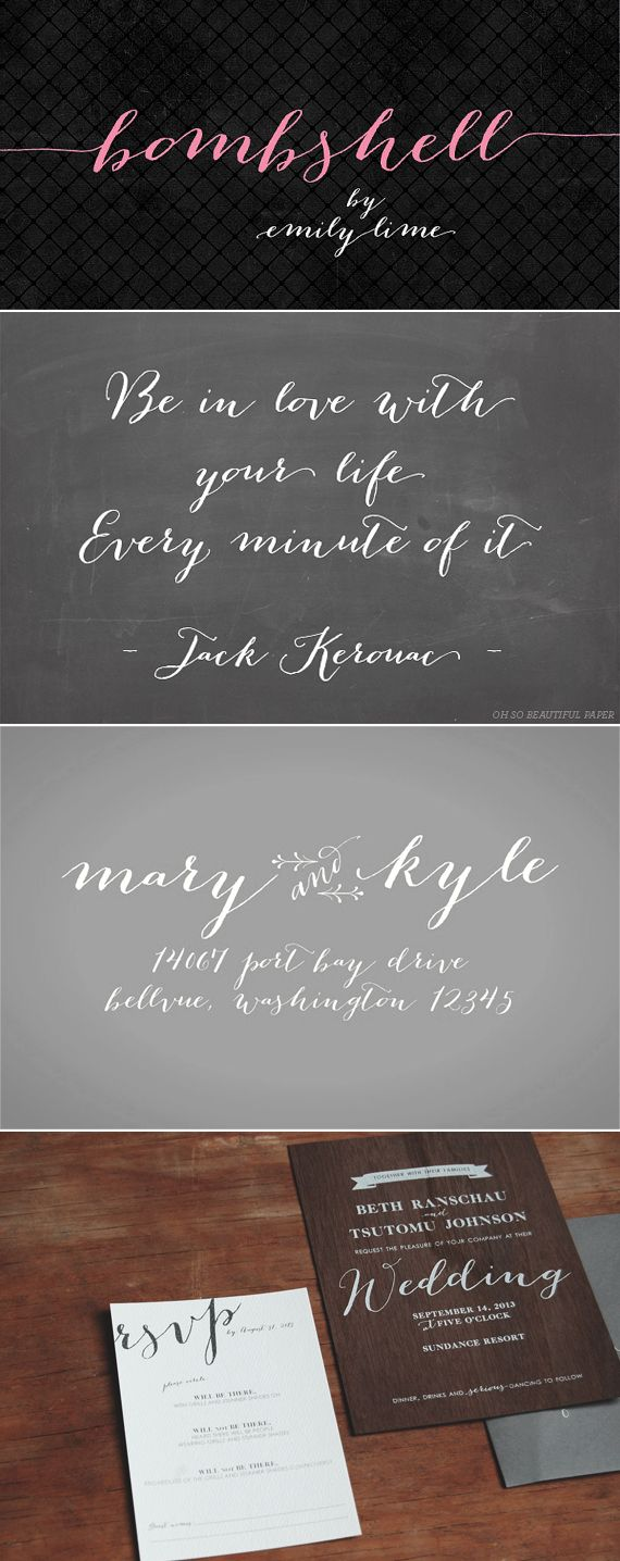 Really want to buy this font! Bombshell Pro {font}