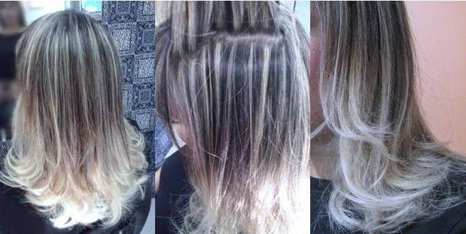 Retoque de luzes dos meus cabelos - Antes e depois - Cuidados e Vaidades http://www.cuidadosevaidades.com.br/2014/04/retoque-de-luzes-dos-meus-cabelos-antes.html