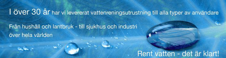 Aqua Invent: Vattenrening och Vattenfilter