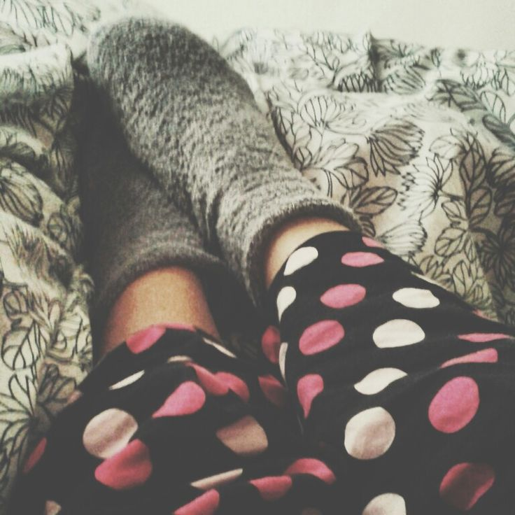 Cosy mornings with my lovely socks ♥♥