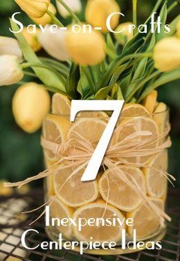Top 7 Inexpensive Centerpiece Ideas