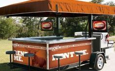 Customizable POW! Tailgate Trailer Decked Out for UT Gameday