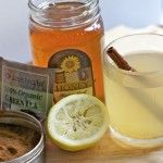 morning power drink - green tea with honey, lemon, and cayenne     Makes your skin radiant!