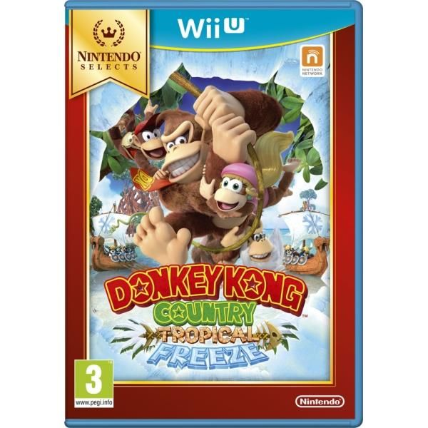 Donkey Kong Country Tropical Freeze Game Wii U (selects) | http://gamesactions.com shares #new #latest #videogames #games for #pc #psp #ps3 #wii #xbox #nintendo #3ds