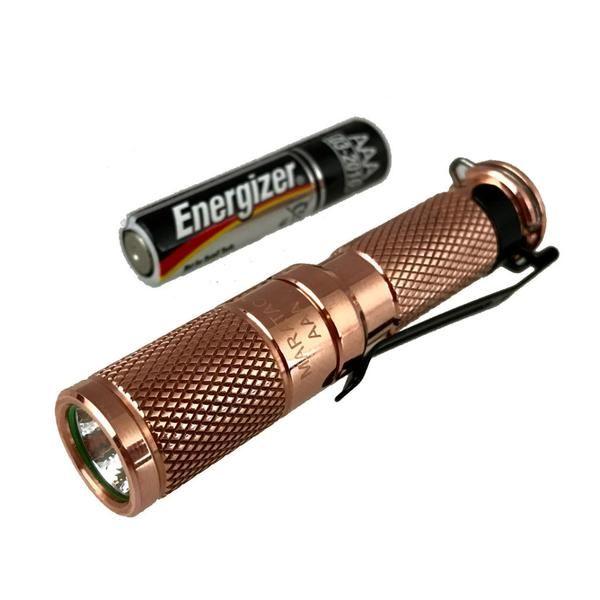 AAA Copper Nichia 219 Flashlight by Maratac ™ REV 4 | CountyComm  – CountyComm